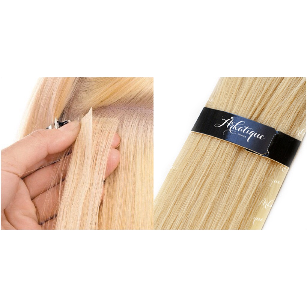 Наращивание ленты с имитацией роста волос